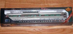 BROADWAY LIMITED 1497 CB&Q VISTA DOME CAR 4720 SILVER RIFLE CALIFORNIA ZEPHYR