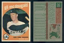 (51524) 1959 Topps 345 Gil McDougald Yankees-EM