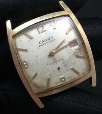 Cauny Hand Manual Winding Vintage Watch Non Working Watch 29,2 MM