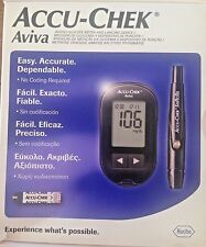Accu Chek Aviva Glucose Meter with 10 Strips Free Expiry 08/2018