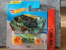 Hot Wheels 2014 #174/250 VANDETTA green HW RACE