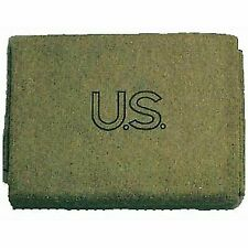 Military Outdoor Clothing US Style Wool 3 Pound Army Blanket 60 X 80 Inch