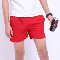 Mens Swim Board Shorts Swimwear Undershort Trunk Underwear Boxer Brief Boy Pants