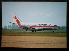 POSTCARD BOEING 737-282 AEROPLANE FOR AIR PORTUGAL