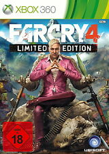 Far Cry 4 -- Limited Edition OVP / New & sealed Xbox 360, 2014, DVD-Box)