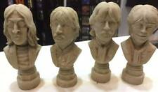 THE BEATLES BUSTS -- Resin Figure Statue Sculpture John Paul George Ringo Prop !