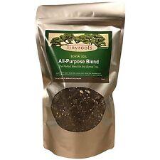 Bonsai Tree Soil All Purpose Blend 2 Quarts Tinyroots 100% Organic All Natural