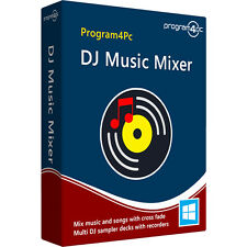 Program4Pc DJ Music Mixer 6.7 - Professional DJ and MP3 Audio Mixing Software
