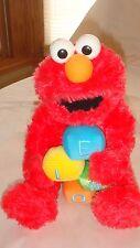 "Gund Sesame Street Musical Animated Elmo 10"" Plush Windup Excellent condtion"