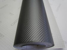 "CARBON FIBER VINYL WRAP GUNMETAL 24"" X 60""  PRO GRADE QUALITY WITH AIR RELEASE"