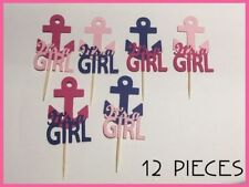 Pink Cupcake Picks Cake Toppers