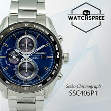 Seiko Criteria Solar Chronograph Watch SSC405P1