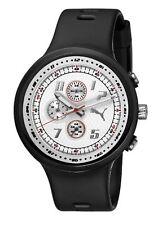 Puma Straps Slick Chronograph White Dial Men's watch #PU910401002 USA SELLER