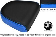 Vinilo Negro Azul Claro Personalizado Para Hyosung GV 650 aquila respaldo Cojín Cubierta 04-11
