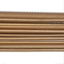 Brass Copper - Fully Threaded Studs Rod - M2 M2.5 M3 M4 M5 M6 M8