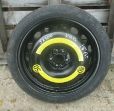 "AUDI TT MK1 8N A3 SEAT VW 5X100 FIT 18"" Space Saver Wheel & Tyre T 125 / 70 R 18"