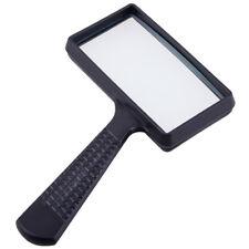 Lese Lupe Rechteckig 10X Vergrößerungsglas Hand-Leselupe  Magnifier