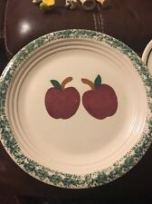 Alco Industries Cranbury , NJ Made In China Apples Plate
