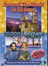 Around the World in 80 Days / 20.000 Leagues Under The Sea.