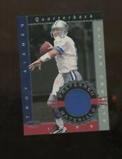1999 Donruss preferred Materials Shoe card Troy Aikman #008/300