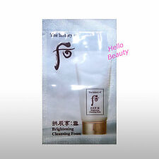 The History Of Whoo Brightening Cleansing Foam 2mlx50pcs (100ml) [HelloBeauty]