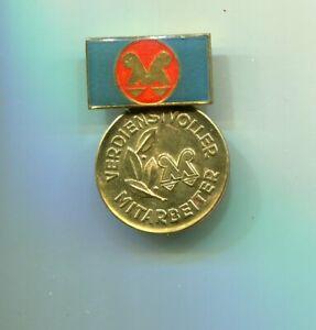 Medaille Verdienstvoller Mitarber  VEB WEIMAR-Kombinat