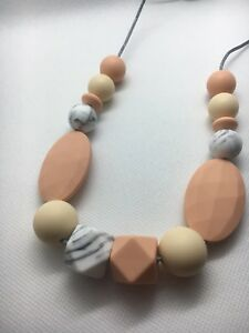 Silicone Necklace for Mum Jewellery Beads Aus Gift Sale (was Teething) Nursing