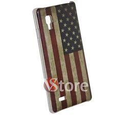 Cover for LG L9 P760 Flag America USA American Retro