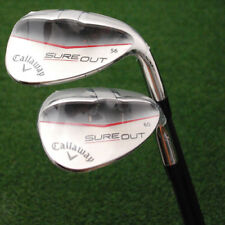 Callaway Golf Sure Out Wedges 56º & 60º 2pc Matched Set Sand & Lob Graphite NEW