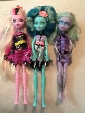 OOAK ARTIST A BEAUTIFUL LOT OF 3. MONSTER HIGH GIRL DOLLS WITH ALOT OF LIFE