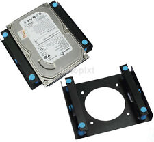 "3.5"" SSD HDD To 5.25"" Shock Absorption Hard Drive Mount Bracket Dock For 8cm fr"