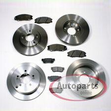 Hyundai Trajet - Discos de Freno Forros Pastillas para Delantero Trasero
