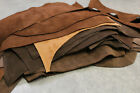 24x32 Vintage Lederstück Antikleder Beutel Bastelleder Dickleder für Tasche