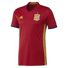 Fußballnationalmannschafts Trikots aus Spanien