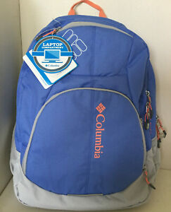 NEW! COLUMBIA ROGUE RIVER PACK LAVENDER LAPTOP FRIENDLY TRAVEL SCHOOL BACKPACK