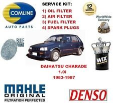 PARA DAIHATSU CHARADE 1.0 83-87 FILTRO DE ACEITE AIRE COMBUSTIBLE+