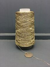100 GRAM CONE FINE 19.2NM LUREX YARN GOLD APPROX 1920M