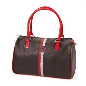 UNLV Rebels University of Nevada Satchel Purse Handbag Faux Leather Bag NCAA