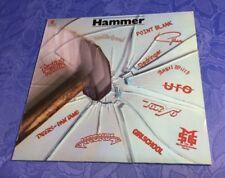 "HAMMER (12"" LP) [1981 COMPILATION ROCK 80S METAL **MOTÖRHEAD GIRLSCHOOL UFO..]"