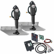 "Lenco 9"" x 12"" Standard Trim Tab Kit w/LED Indicator Switch Kit 12V   15108-103"