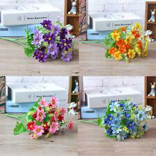 Künstliche Seidenblumen Gänseblümchen Kunstblumen Blumenstrauß Strauß Floristik