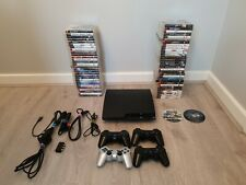 Sony Playstation 3 Slim 120Gb bundle 4 controllers and 60+ games