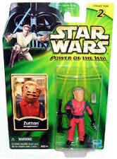 Star Wars Zutton Action Figure POTJ MOC Snaggletooth Power of the Jedi Toy