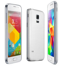 NEW G900w White 3G Smart Phone Android 4.4 Dual SIM WiFi Bluetooth GSM Unlocked