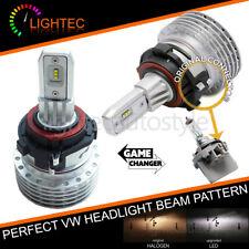 VW Touran 10-15 senza ventola H7 LED HEADLIGHT Bulbs KIT CANBUS ERROR FREE Plug & Play