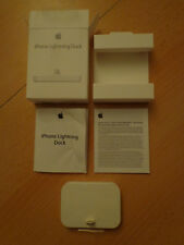 Apple iphone iPod touch Lightning Dock Ladestation Weiß Neu und OVP