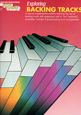 E-Z jugar hoy E7-pistas de respaldo-libro de música de órgano Teclado fácil EZ SFX