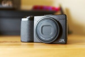 Ricoh GR III Digital Camera plus extra batteries and charger