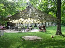 US Parachute Party Tent Garden Canopy Sun Shade Gazebo Wedding Patio Umbrella