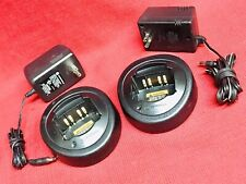 2-Motorola Htn9000B Rapid Radio Charger with Power Supply